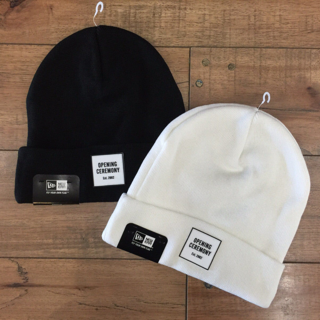 OPENING CEREMONY OC LOGO BEANIE ( BLACK ) – Superbored Clothing Ltd. 1b45c2144f3