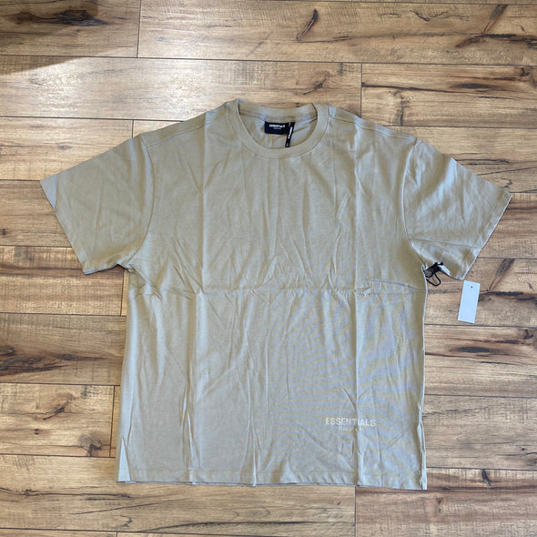 FEAR OF GOD ESSENTIALS 3M Logo Short Sleeve Tee (Twill)
