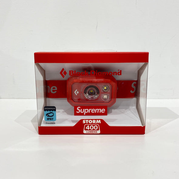 Supreme x Black Diamond Storm 400 Headlamp