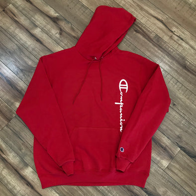 Companion Champion Hoodie (Red)