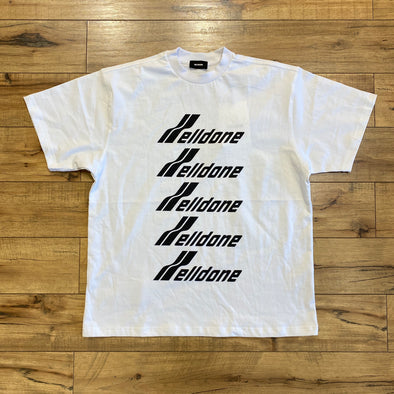 We11done White Front Logo T-Shirt