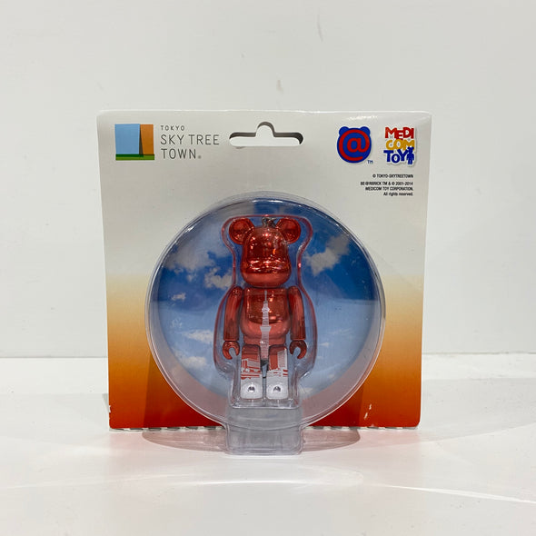 Be@rbrick Tokyo Skytree Town Red 100%