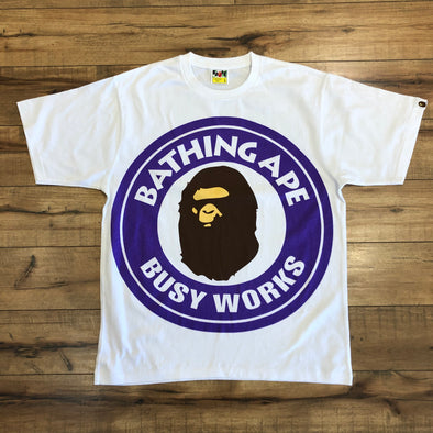 Bape Pigment Colorful Big Busy Works Tee (Purple)