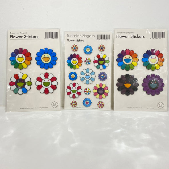 Takashi Murakami Puffy Stickers