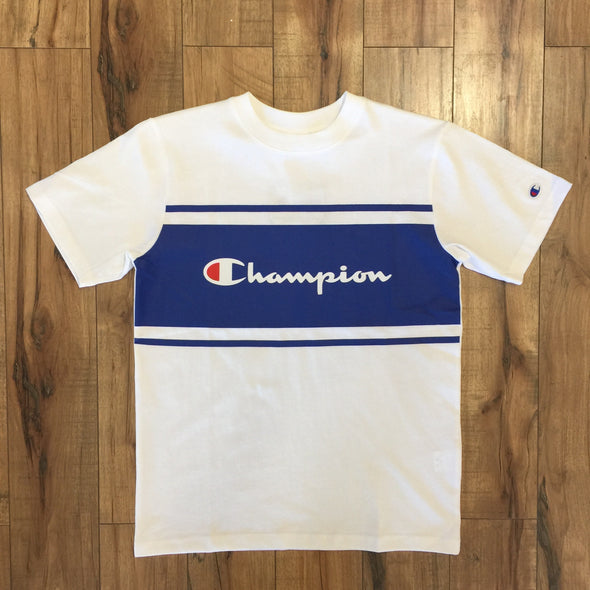 Champion JP Stripe Tee (White)