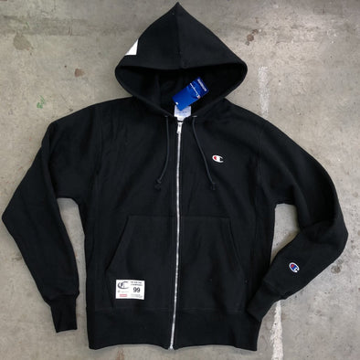 Companion - Champion Zip Up Hoodie (Black)