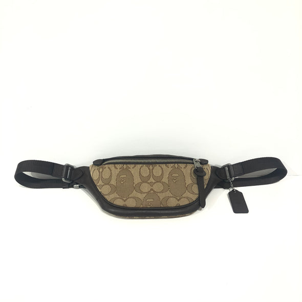 Bape X Coach Rivington Belt Bag
