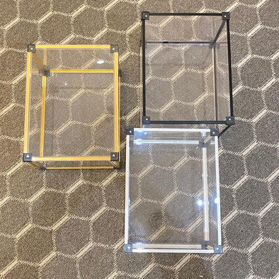 Be@rbrick 400% Clear box (Set of 2)