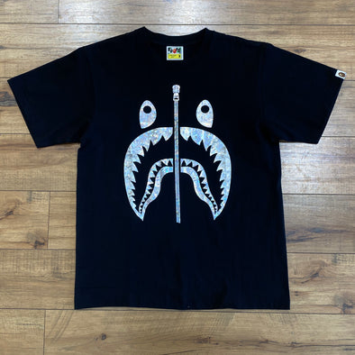 BAPE Hologram Shark Tee (Black)