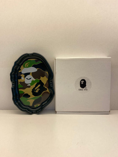 Bape Ape Head Ashtray (Green Camo)