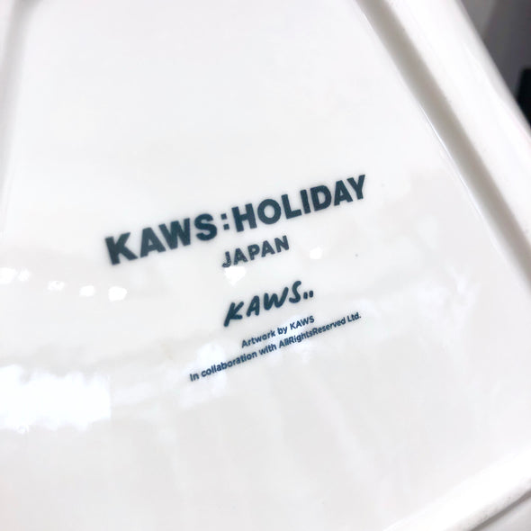 Kaws Holiday Japan Mount Fuji Ceramic Plate Set (Set of 4)