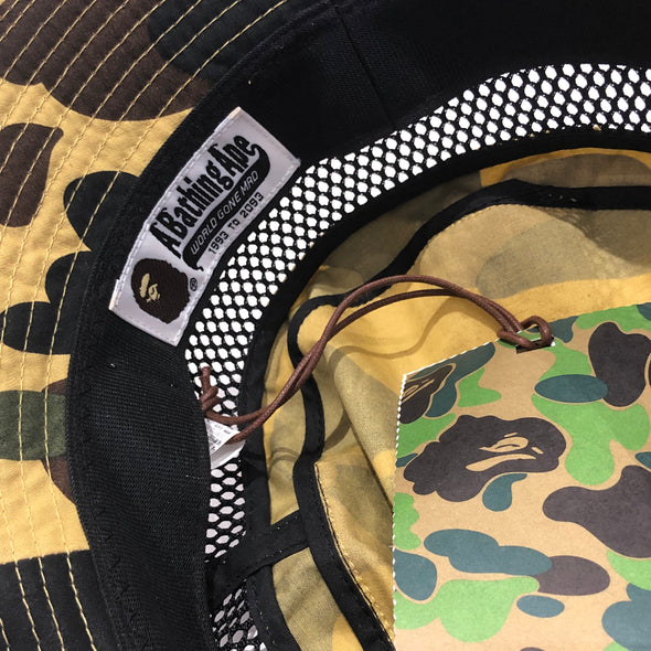 BAPE Bucket Hat (Yellow)