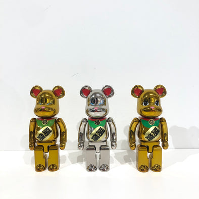 Be@rbrick Lucky Cat Maneki Neko  Medicom Chohokin 200%