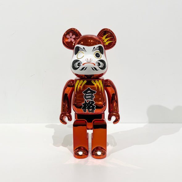 Be@rbrick Daruma Red Plated 400%