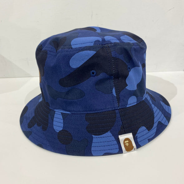 Bape Color Camo Bucket Hat (Purple/Navy)