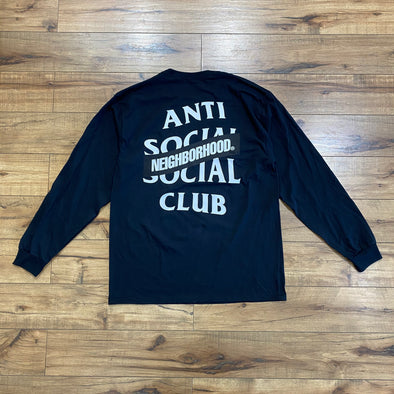 Neighborhood X Assc AW05 Black Long Sleeve Tee