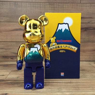 Golden Sunrise Fuji Mountain 400% Be@rbrick