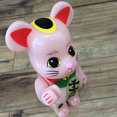 Neko Lucky Cat Glow In Dark 400% Be@rbrick