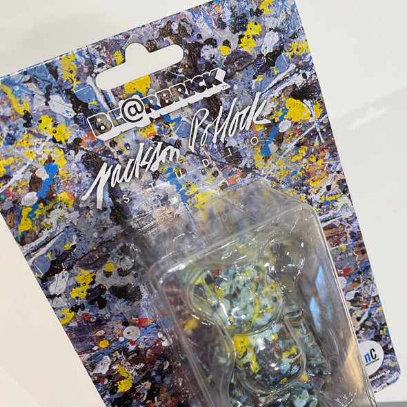 Jackson Pollock Exclusive 100% Be@rbrick