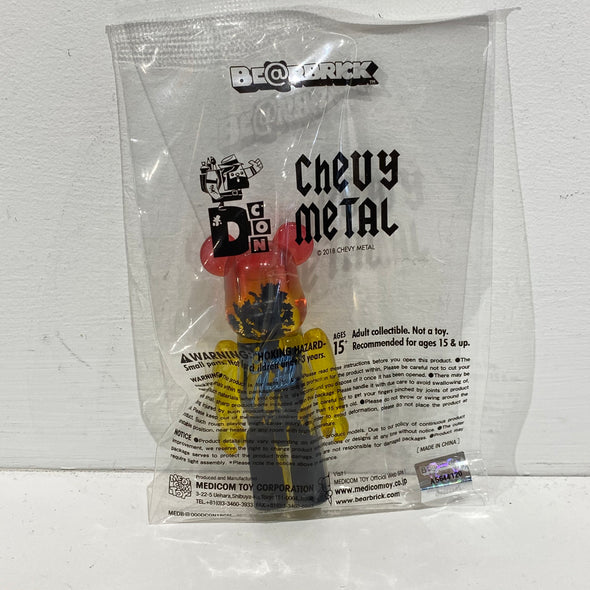 Chevy Metal D-Con Exclusive 100% Be@rbrick