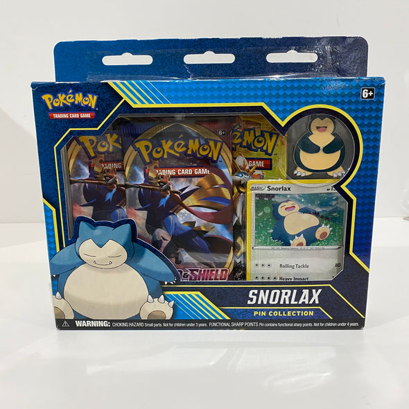 Pokemon Snorlax Pin Collection