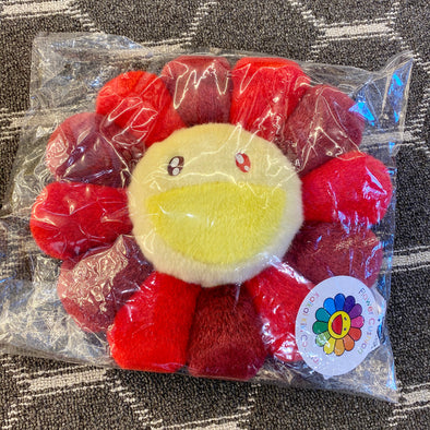 Takashi Murakami Plush Rainbow Flower (Red) 30 cm