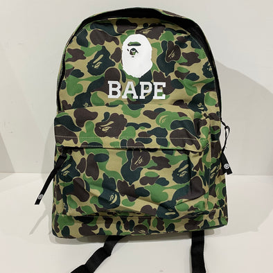 Bape Green Camo Bag pack