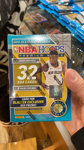 2019/20 panini hoops premium stock Box (Exclusive Red Prizms) 32 Cards