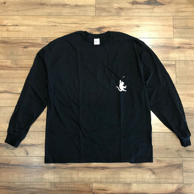 RIPNDIP Hang in there L/S Tee (Black)