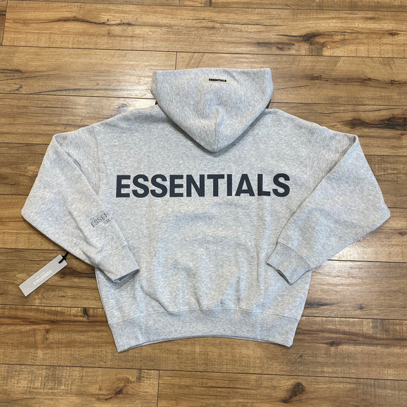 FEAR OF GOD ESSENTIALS 3M Logo Hoodie (Grey)