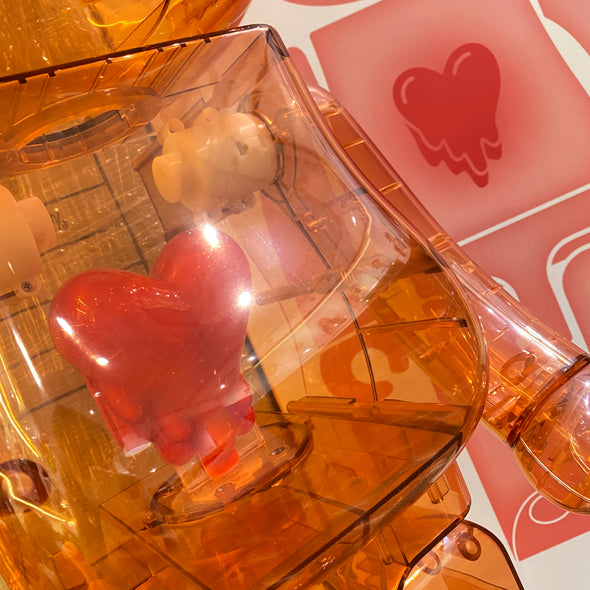 Be@rbrick x Emotionally Unavailable Red Heart 1000%
