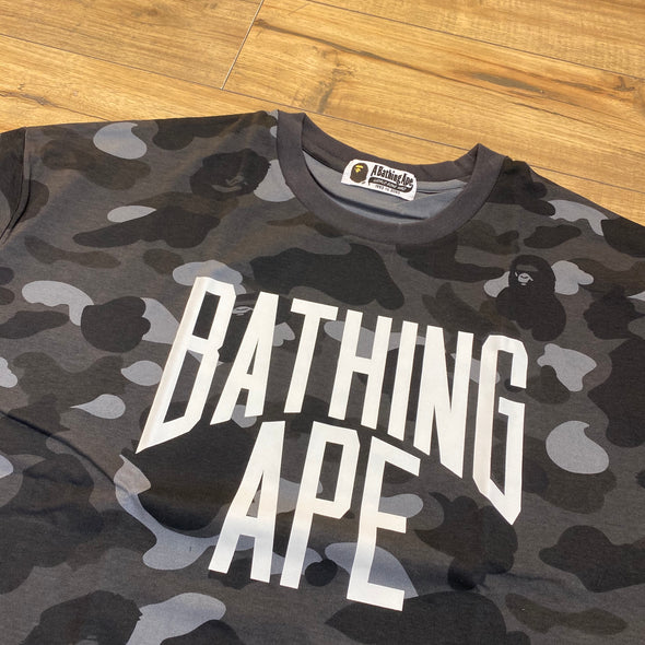 Bape Black Camo Bathing Ape T-shirt ( One Size )