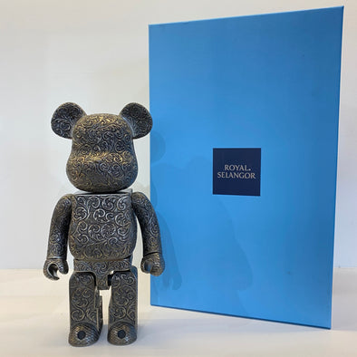 Be@rbrick Royal Selangor Arabesque 400% Black