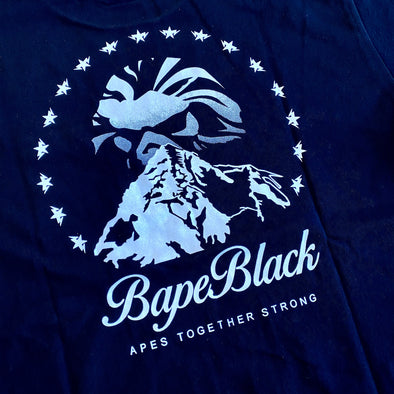 Bape Black Mountain Tee
