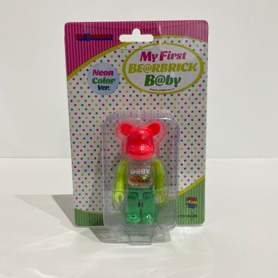 My First Be@rbrick Baby 100% (Neon)