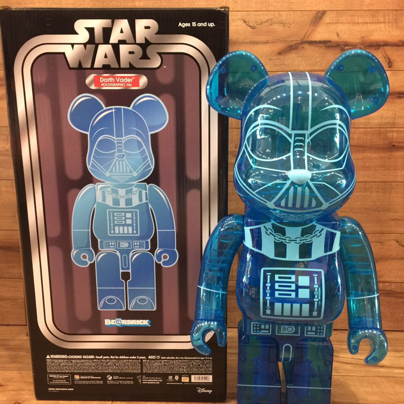 Starwars Darth Vader Hologram 1000% Be@rbrick