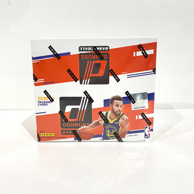 2020-21 Panini NBA Donruss Basketball Retail Box(24 packs of 8 cards 1 Autograph per box)