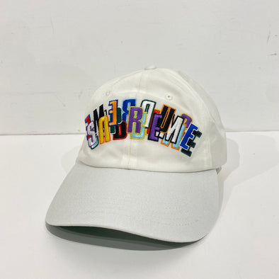 Supreme Supreme Stacked Cordura 6-Panel White