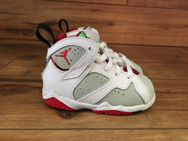 NIKE AIR BABY JORDAN 7 HARE (White/Red)