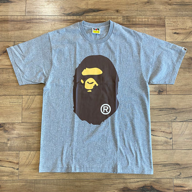 Bape Ape Head Tee (Grey)