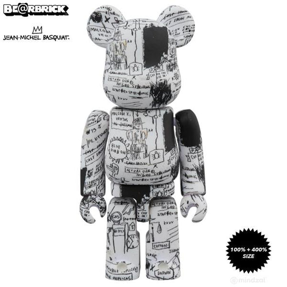 Jean-Michel Basquiat Be@rbrick #3 100% + 400% Set