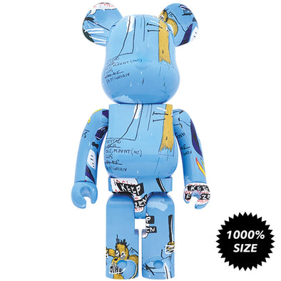 Jean-Michel Basquiat Bearbrick #4 1000%