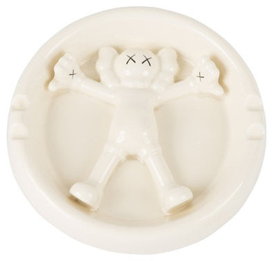 KAWS Original Fake Ceramics Ashtray (White)