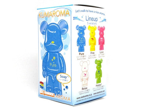 Be@rbrick Aroma Air Freshner Keychain Figure (2 Scent)