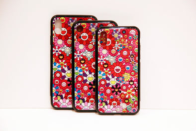 Takashi Murakami Red Iphone Case (X/Xs/XR/Xs Max)