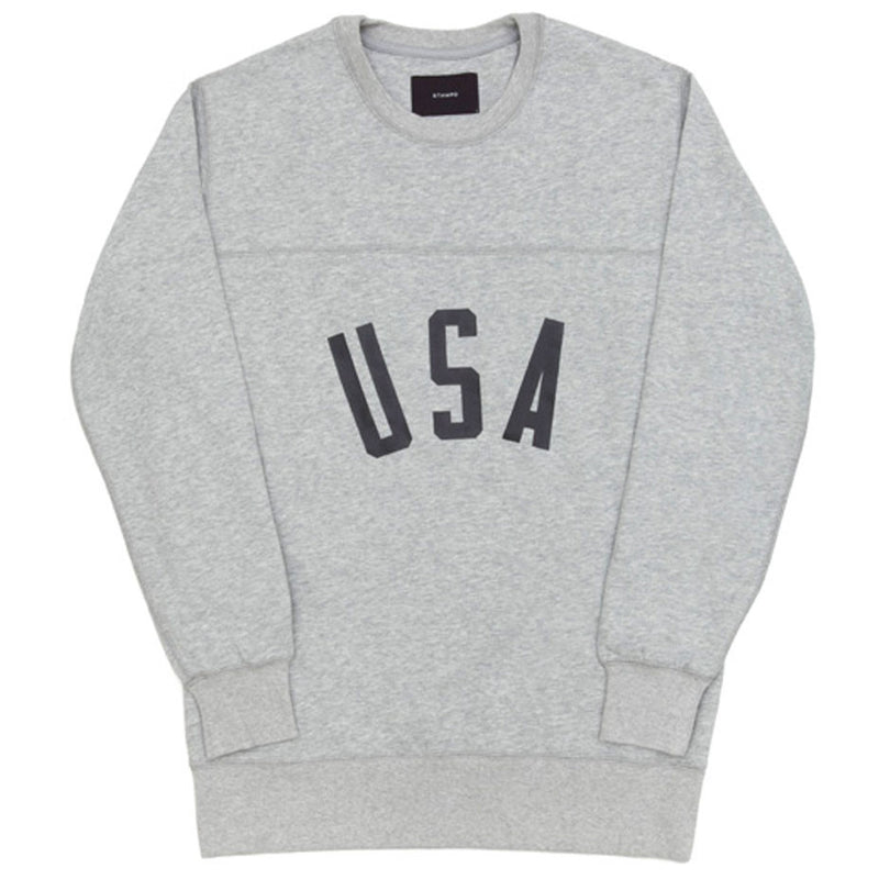 STAMPD USA Crewneck (Grey)