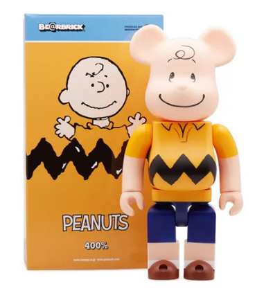 Charlie Brown 400% Be@rbrick