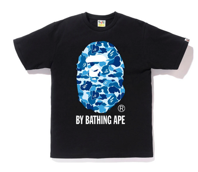 Bape ABC Camo By Bathing Ape Tee (Black/Blue)