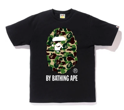 Bape ABC Camo By Bathing Ape Tee (Black/Green)