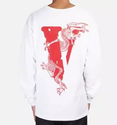 Vlone x Clot Dragon Tee (White)